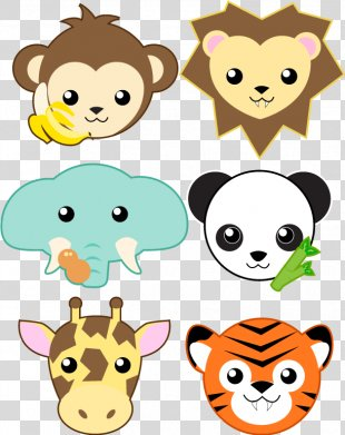 Giant Panda Animal Clip Art - Cute Animal Picture Collection PNG
