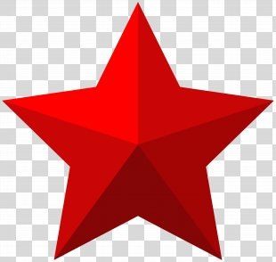 Star Shape Icon Clip Art - Red Star Clip Art Image PNG