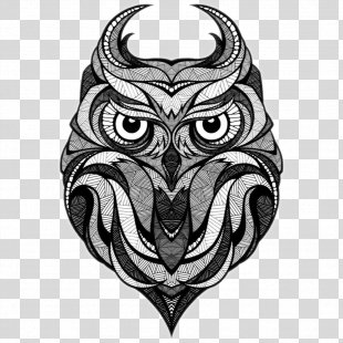 Owl Drawing Illustrator Illustration - Owl Tattoo PNG
