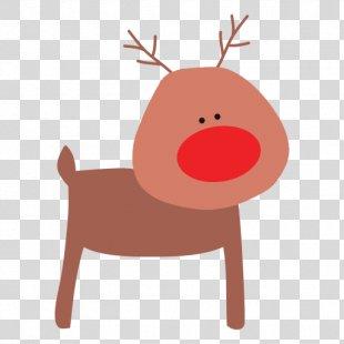Reindeer Animaatio Drawing Clip Art - Reindeer PNG